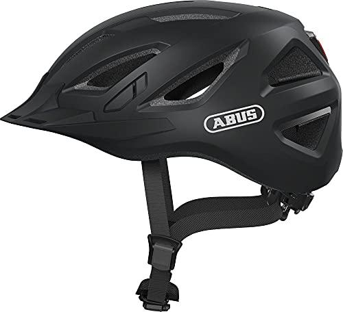 ABUS Unisex Urban-i 3.0 Fahrradhelm, Schwarz (velvet black), M 52-58 EU